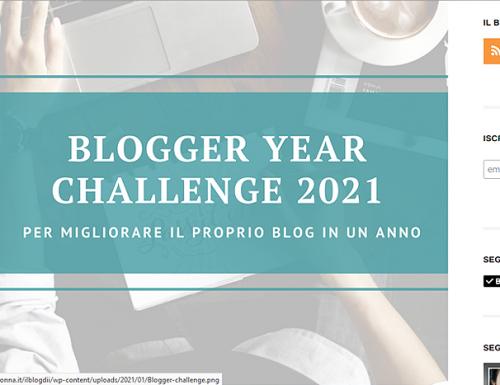 #bloggeryearchallenge2021 di ilblogdii.